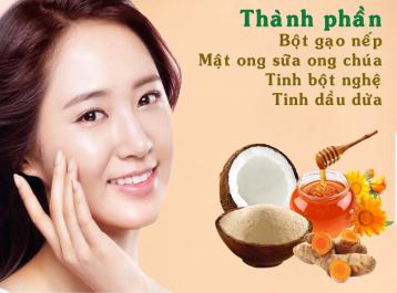 Công dụng làm đẹp không ngờ từ cám gạo, tinh nghệ, mật ong và dầu dừa