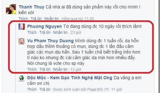 review kem gao